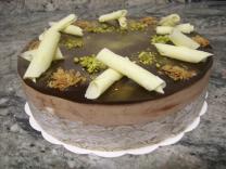 Croustillant pistache-chocolat